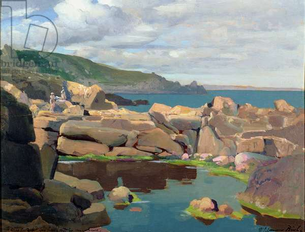 T35226 Pedn Y Vounder, Cornwall (oil on board)