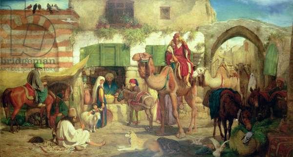 A Street in Jerusalem, 1867