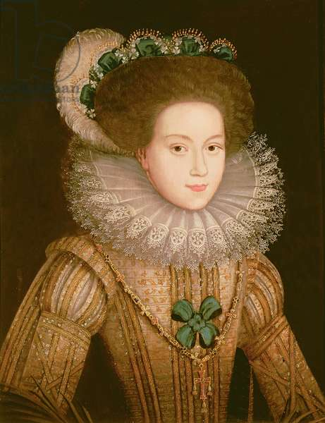 Portrait of a Lady, possibly Mary Queen of Scots