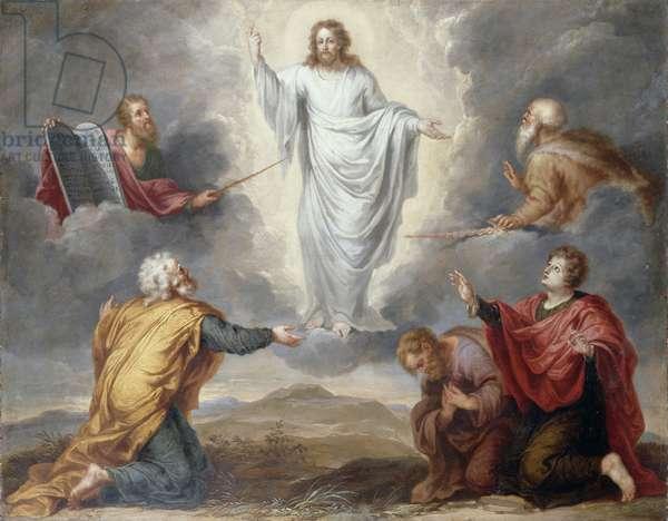 The Transfiguration (oil on copper)