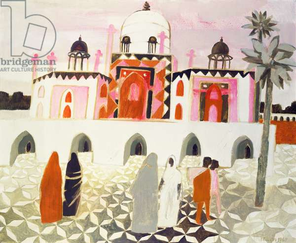 The Mosque at Humayan, 1968