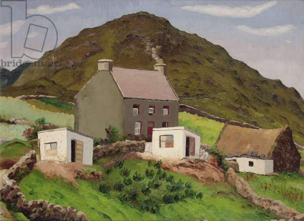 Welsh Hill Farm (oil on canvas)