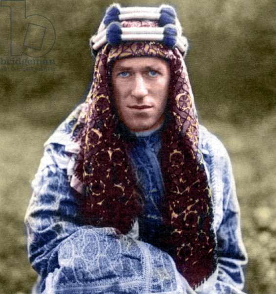 England: T. E. Lawrence, better known as 'Lawrence of Arabia' (1888-1935)