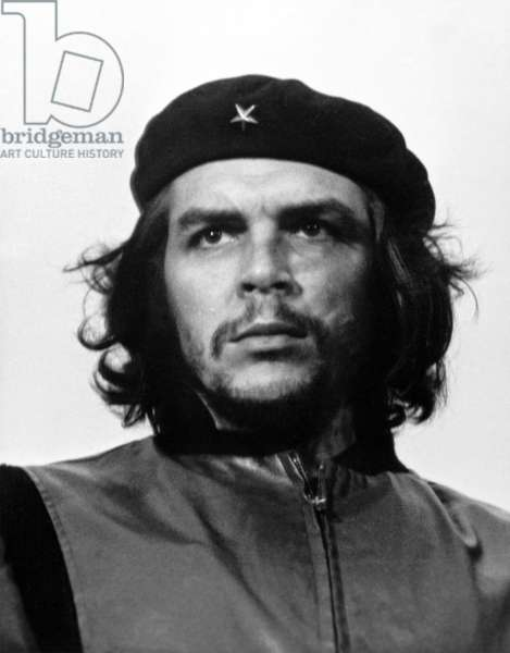 Guerrillero Heroico, March 5, 1960 (b/w photo)