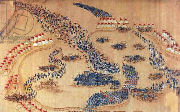 China: Qing forces chase the Taiping out of Yuzhuang (Taiping Rebellion, 1850-1864)