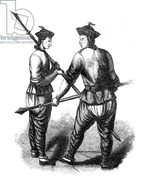 China: Tatar spearsmen, First Opium War, 1839-1842