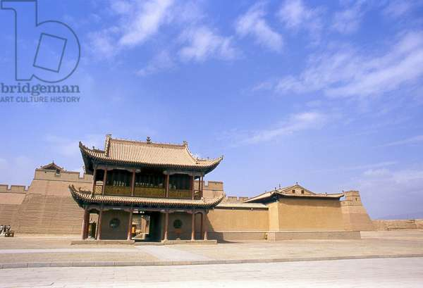 China: Wenchang Hall, Jiayuguan Fort, Jiayuguan, Gansu