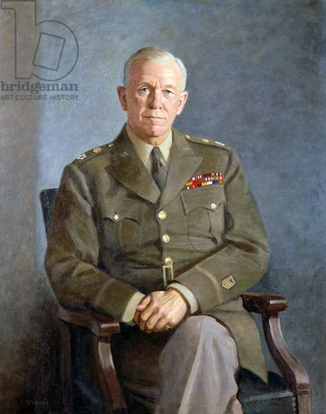 USA: General George C. Marshall (1880-1959), United States Secretary of State 1947-1949