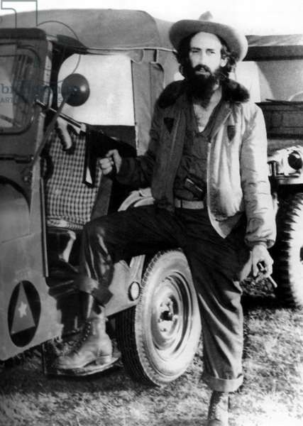 Cuba: Cuban revolutionary and guerrilla leader Camilo Cienfuegos, c.1959