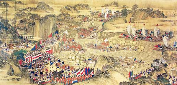 China: Qing forces regain the centres of Jiangpu and Pukou (Taiping Rebellion, 1850-1864)