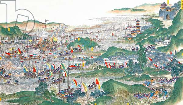 China: Qing forces regain control of Yuezhou city (Taiping Rebellion, 1850-1864)