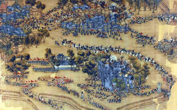 China: Taiping forces break through the Qing encirclement at Fucheng (Taiping Rebellion, 1850-1864)