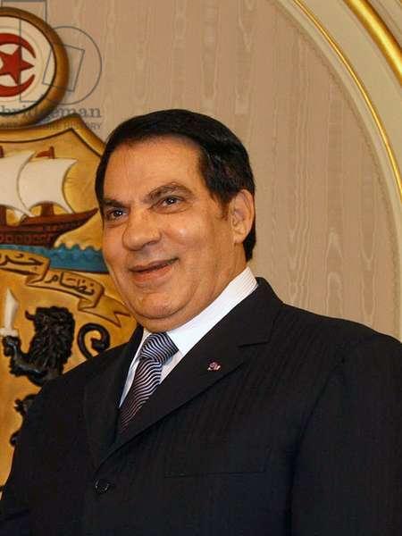 Tunisia: Zine El Abidine Ben Ali, President of Tunisia 1987-2011.