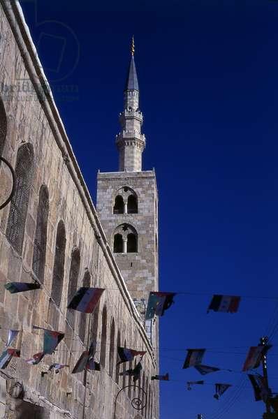 Syria: Minaret of Jesus, Umayyad Mosque, Damascus