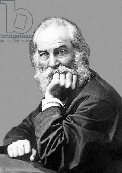 USA: Walter 'Walt' Whitman, American poet, essayist and journalist (1819-1892), c. 1870