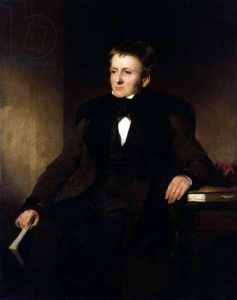 Thomas de Quincey, c.1845 (oil on canvas)