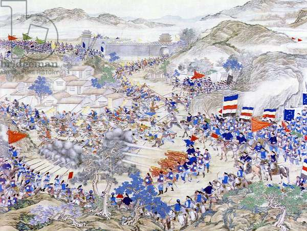 China: The Battle of Tongcheng (Taiping Rebellion, 1850-1864)