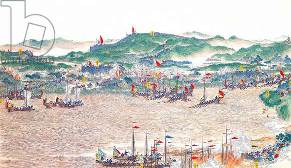 China: Qing forces take control of Jiufu Island and nearby strategic passes (Taiping Rebellion, 1850-1864)