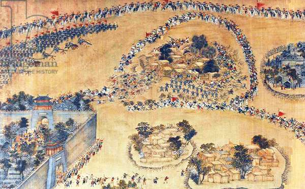 China: Taiping forces break out of Shuoheng  (Taiping Rebellion, 1850-1864)