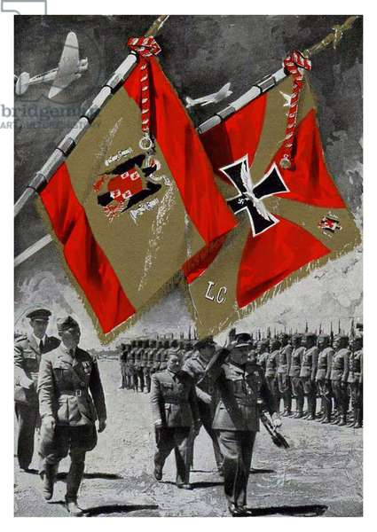 Spain / Germany: Propaganda poster celebrating the actions of the German Condor Legion during the Spanish Civil War (1936-1939)