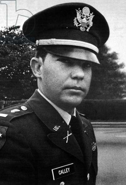 USA / Vietnam: William Laws Calley (born June 8, 1943), a convicted American war criminal and a former U.S. Army officer found guilty of murder for his role in the My Lai Massacre on March 16, 1968, during the Second Indochina / Vietnam War