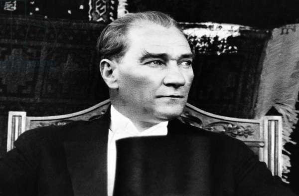 Turkey: Mustafa Kemal Ataturk (1881-1938), c. 1930