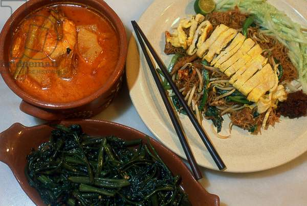 Malaysia / Thailand: Typical Nonya cuisine found in Melaka, Penang and Phuket