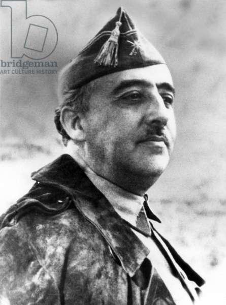 Spain: General Francisco Franco, military dictator (Caudillo) of Spain, 1939-1975