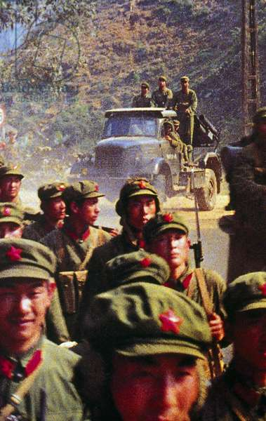 Vietnam: Chinese PLA soldiers invade Vietnam, Third Indochina War, 1979