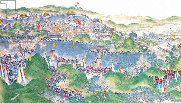 China: Qing forces regain control of Jinling  (Taiping Rebellion, 1850-1864)