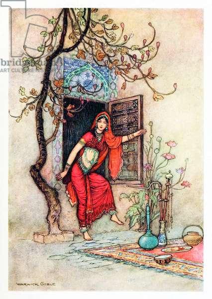 UK: 'The Story of Swet-Besanta','Folk Tales of Bengal', Warwick Goble (1862-1943), 1912