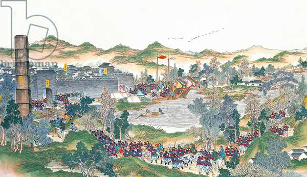 China: The capture of Hong Fuzhen (Taiping Rebellion, 1850-1864)