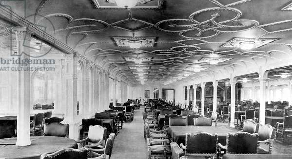 UK: RMS Titanic, The First Class Dining Room