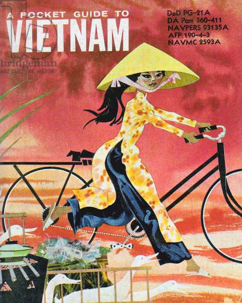 Vietnam: 'A Pocket Guide to Vietnam', for US forces serving in Vietnam, Second Indochina War, c.1962
