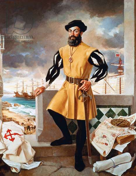 Portugal: Ferdinand Magellan (1480-1521) Portuguese Explorer and Circumnavigator