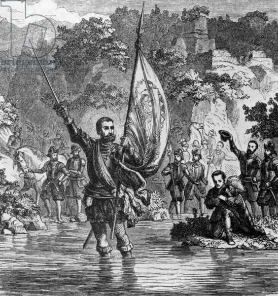 Panama/ Spain: Vasco Nunez de Balboa, the first European to see the Pacific Ocean after crossing the Isthmus of Panama in 1513.