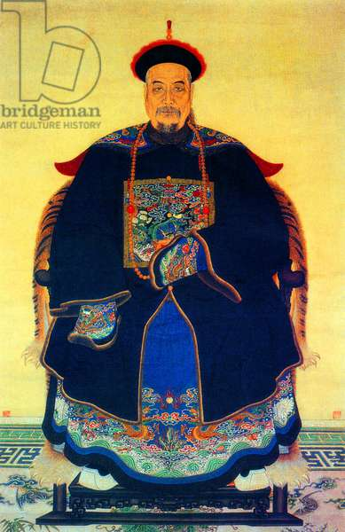China: Guan Tianpei (1781-1841), Qing Dynasty admiral who served bravely and fell in the First Opium War (1839-1842)