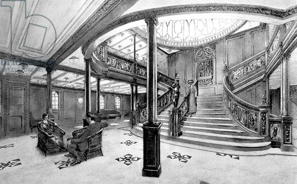 UK: RMS Titanic, The Grand Staircase