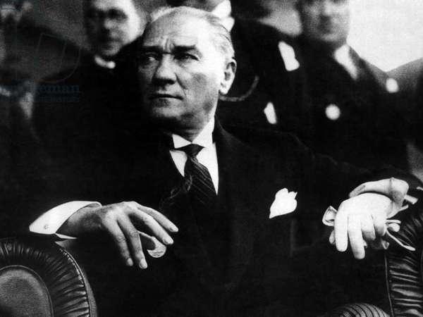 Turkey: Mustafa Kemal Ataturk (1881-1938), c. 1932