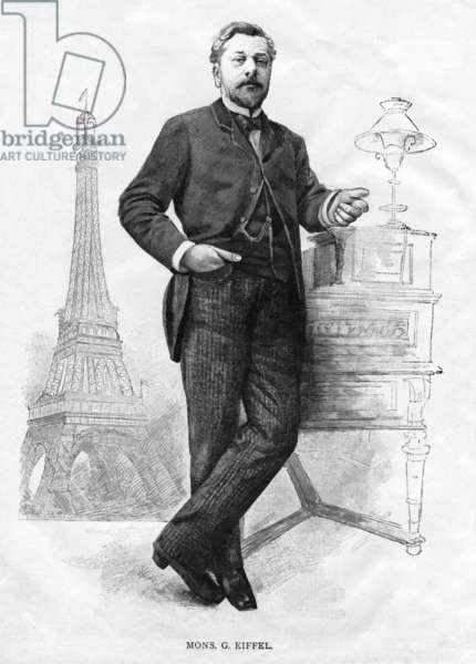France: Alexandre Gustave Eiffel (1832-1923), French civil engineer and architect, 1889