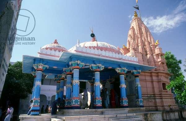 India: The Brahma Temple (Jagatpita Brahma Mandir), Pushkar, Rajasthan