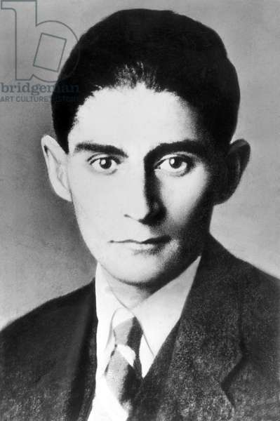 Czech Republic - Czechoslovakia: Franz Kafka, German-language author of novels and short stories (1883-1924), c. 1910