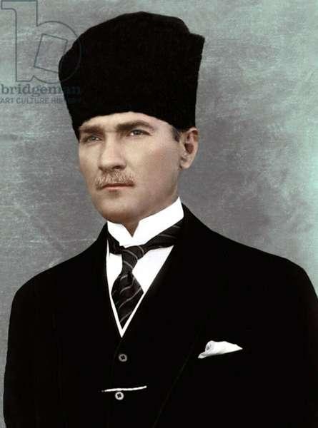 Turkey: Mustafa Kemal Ataturk (1881-1938), c. 1925