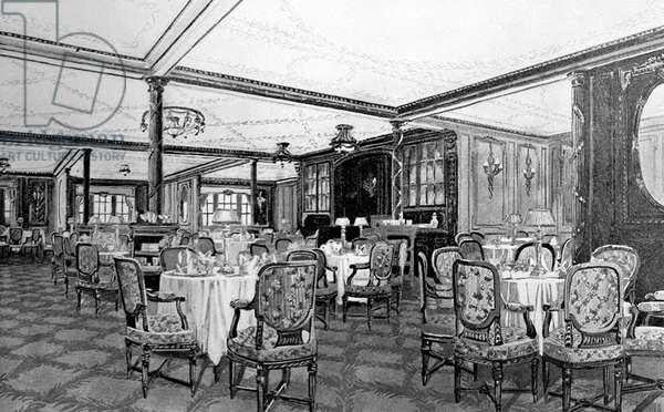 UK: RMS Titanic, The A La Carte Restaurant