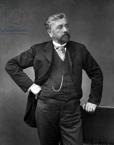 France: Alexandre Gustave Eiffel (1832-1923), French civil engineer and architect, 1880