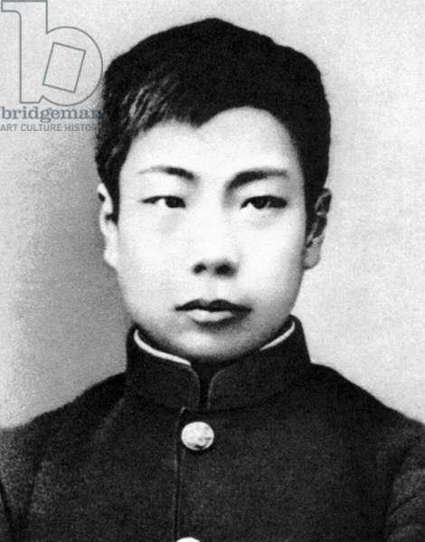 China: The Chinese writer Lu Xun (1881-1936) as a boy