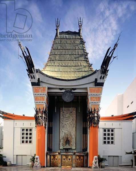 USA: Grauman's Chinese Theatre, Hollywood, California (opened 1926).