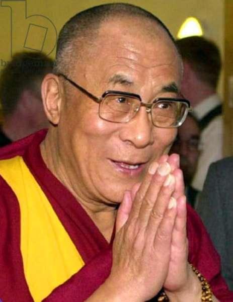 China / Tibet / India: The 14th Dalai Lama, Tenzin Gyatso (1935- ).