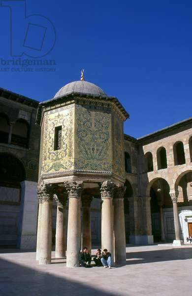 Syria: The Treasury Dome in the central courtyard, Umayyad Mosque, Damascus (1998)