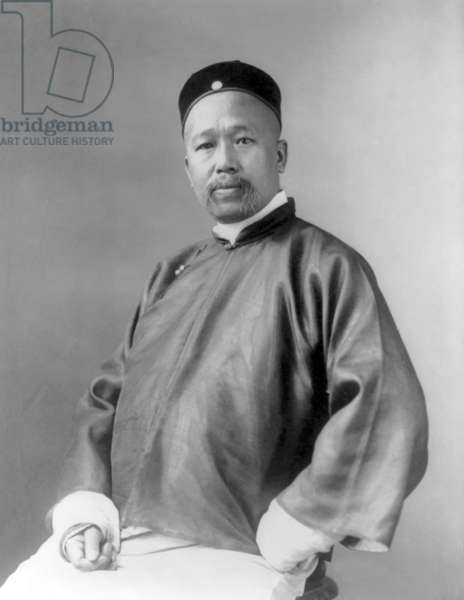 China: Kang Youwei, notable Chinese scholar and reformer of the late Qing Dynasty (1858-1927)